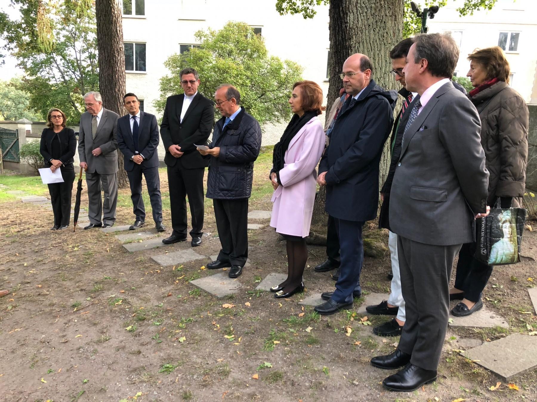 The speech by the Italian Ambassador Mario Cospito