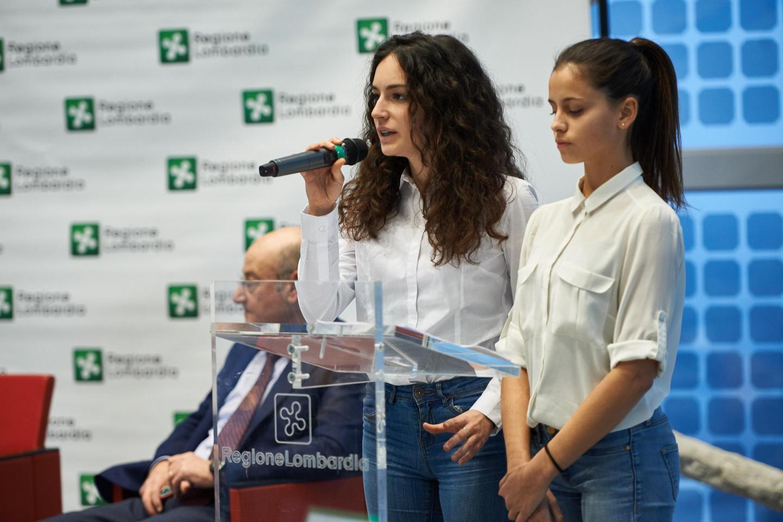 Milde Catalano and Martina Volonté