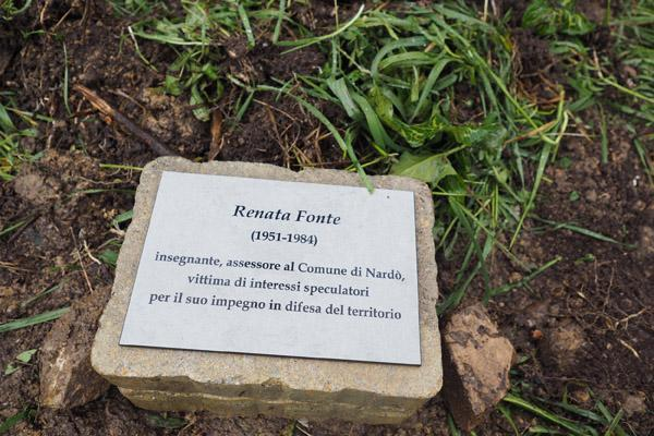 New Righteous in the Garden of Perugia: Anna Frank, Renata Fonte, Emma Thomas