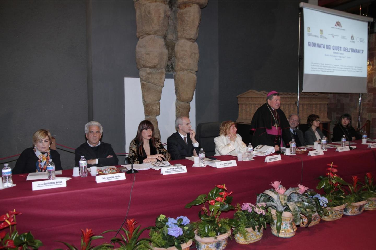 conference for the Righteous in Agrigento
