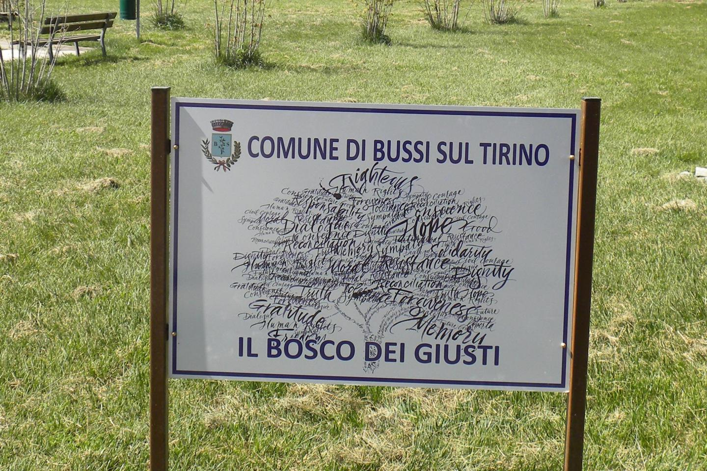 the Garden of Bussi sul Tirino in Pescara