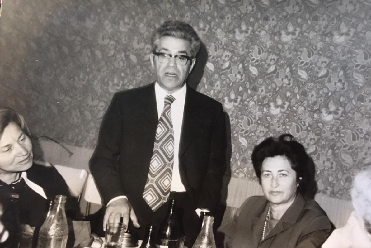 The last meeting with Landau, May 1974