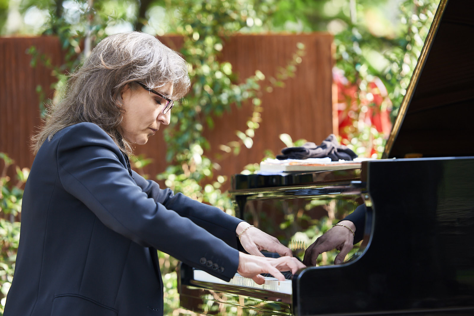 Ani Martirosyan at the piano