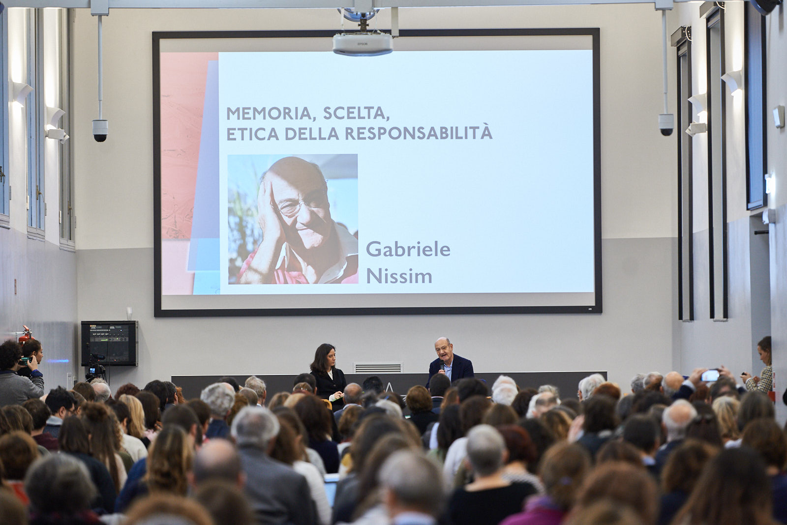 "The speech of Gabriele Nissim, president of Gariwo, on ""Memory, choice, ethics of responsibility"""