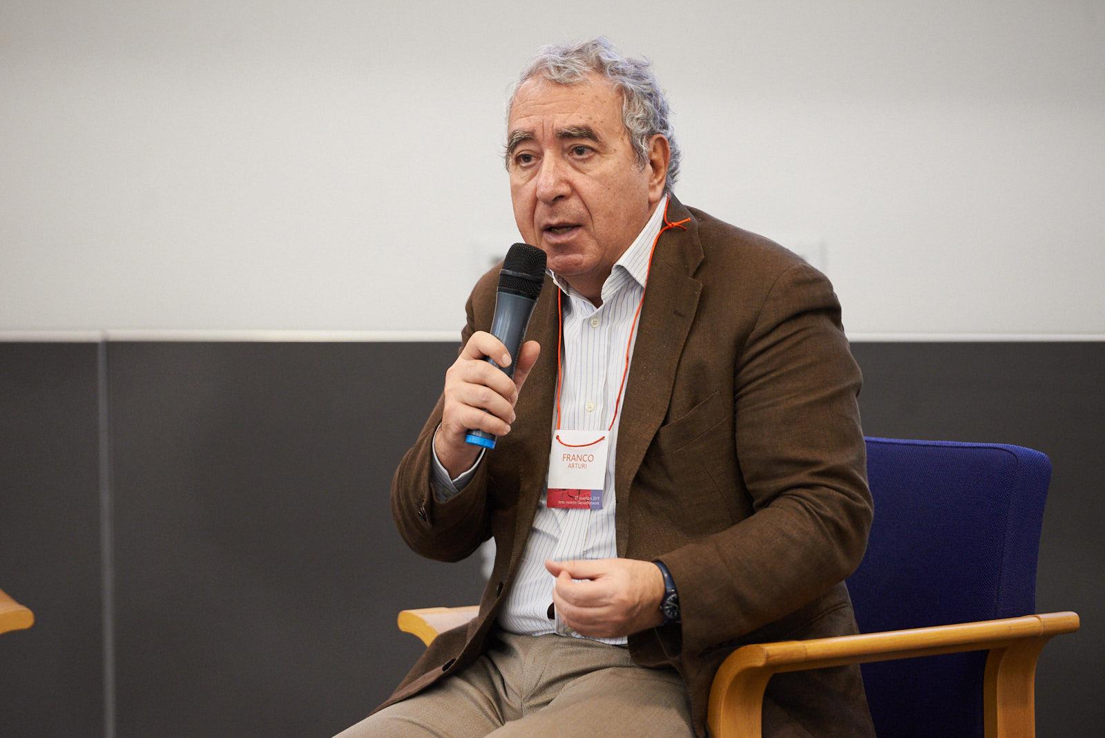 Franco Arturi, director of the Candido Cannavò Foundation