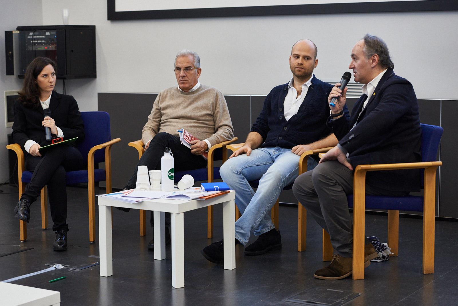 """Massimiliano Castellani, journalist and author of the book """"Un calcio al razzismo. 20 lezioni contro l'odio"""" (Giuntina)"""
