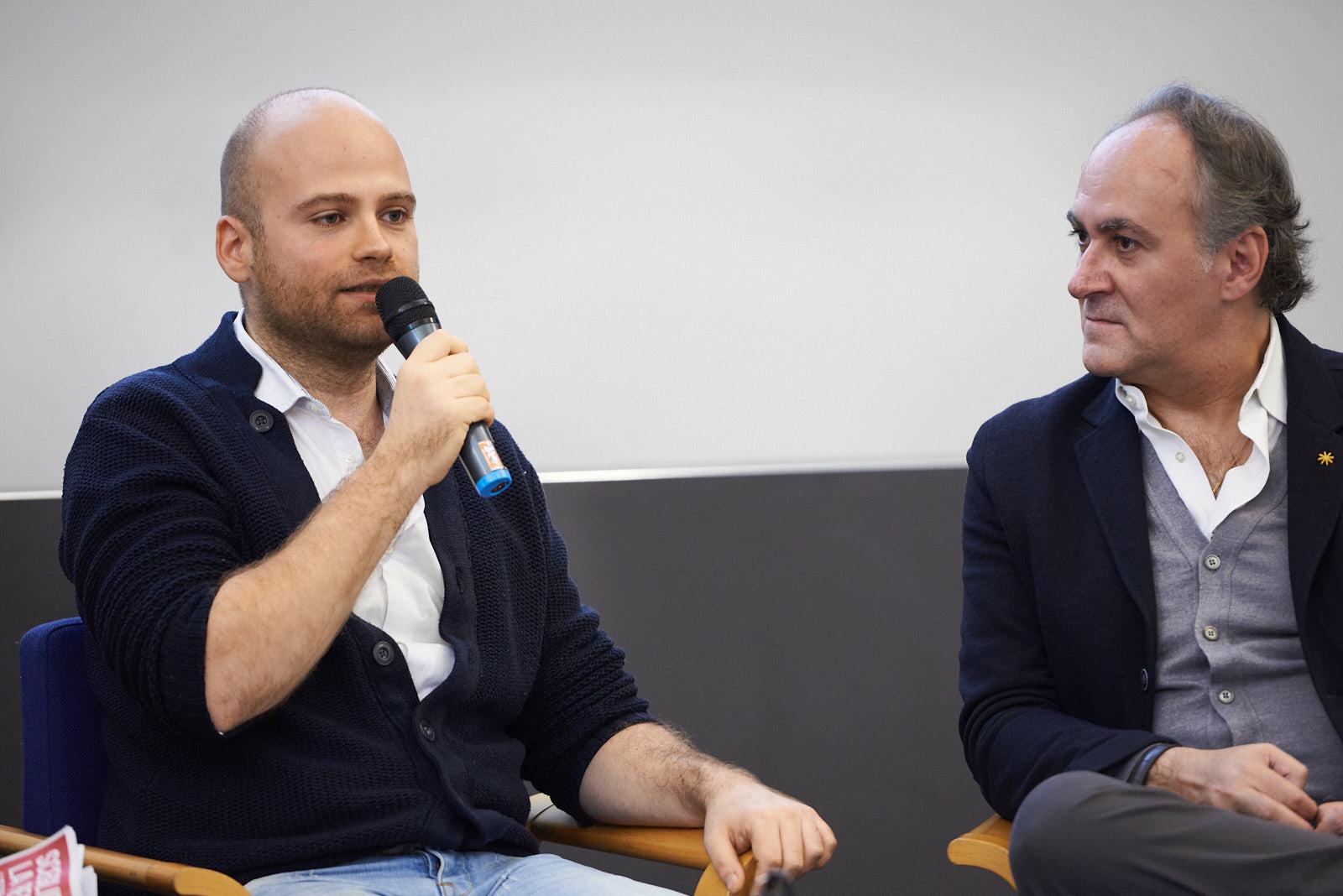 """Adam Smulevich, journalist and author of the book """"Un calcio al razzismo. 20 lezioni contro l'odio"""""""