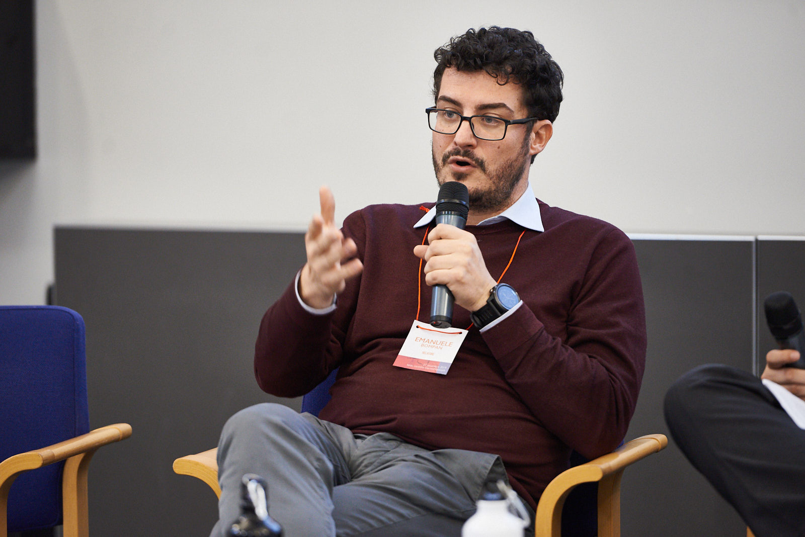 Emanuele Bompan, environmental journalist and geographer, for the environmental panel. Theme: Climate change and human rights. Being Righteous for the Environment