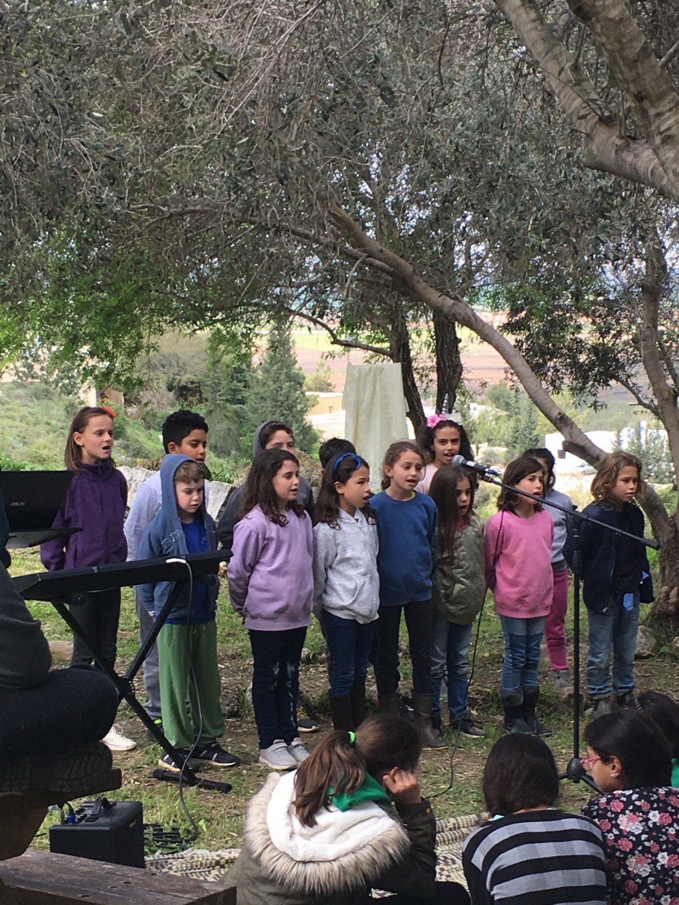 the songs of the village children
