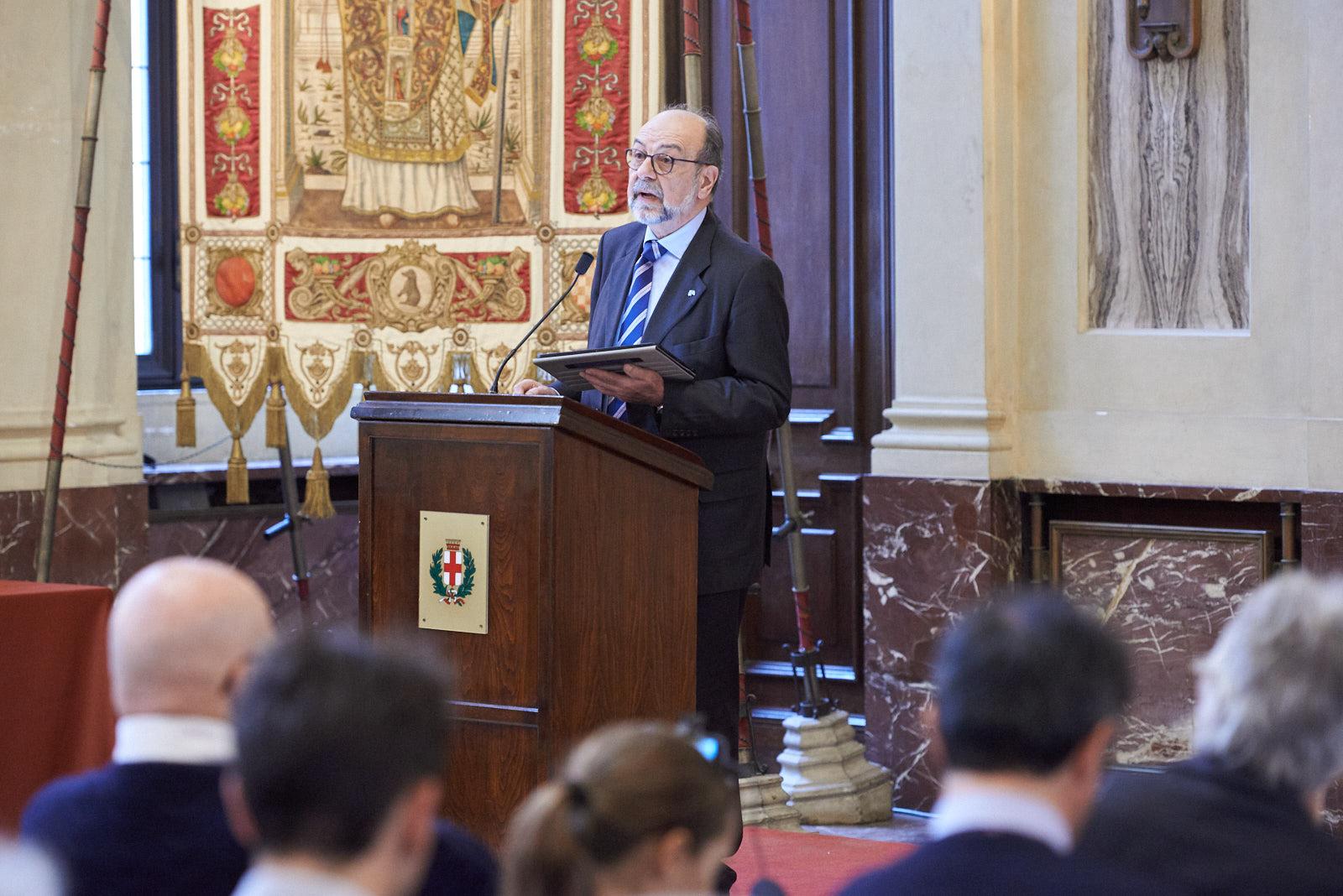 Giorgio Mortara, Deputy president UCEI