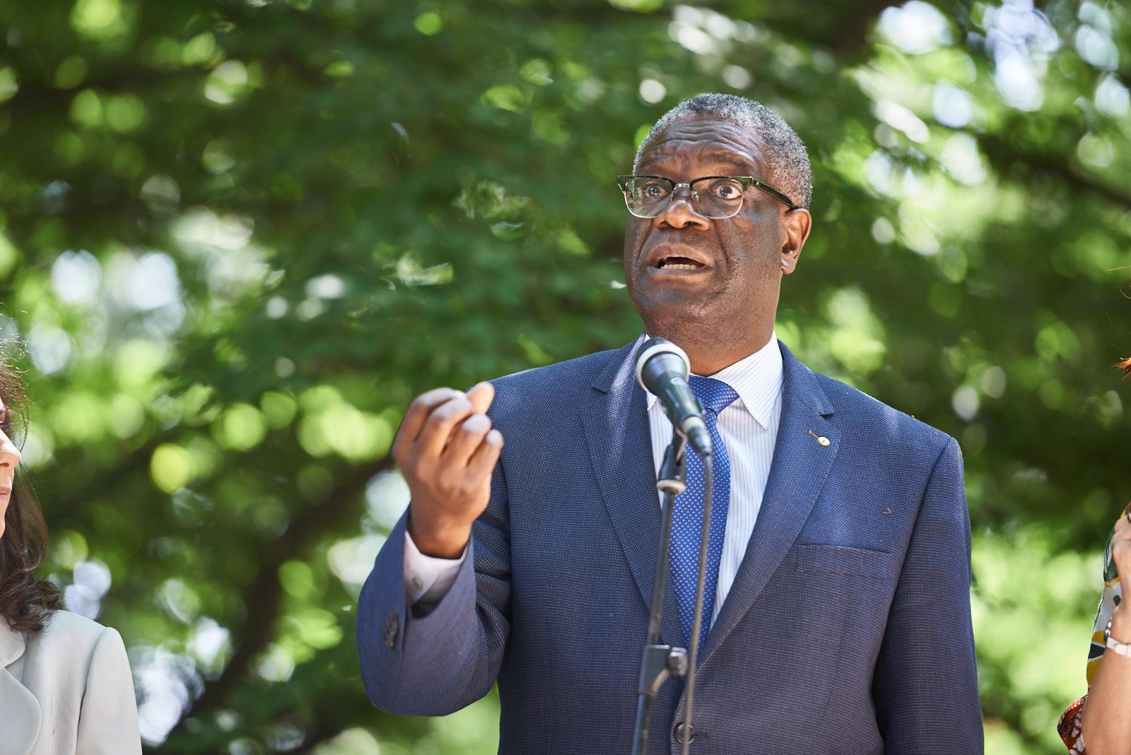 the speech Dr. Denis Mukwege