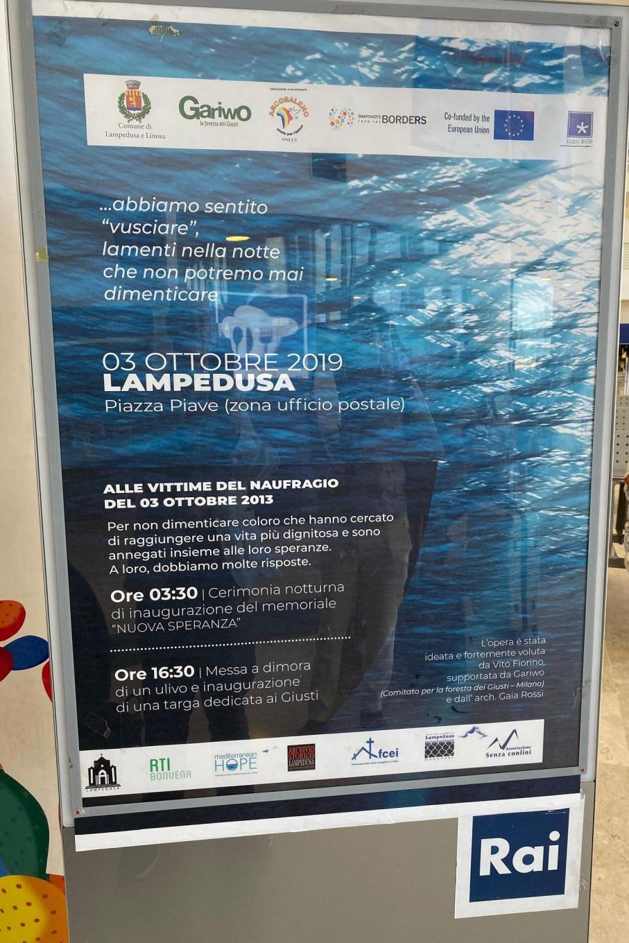 The poster of the initiative