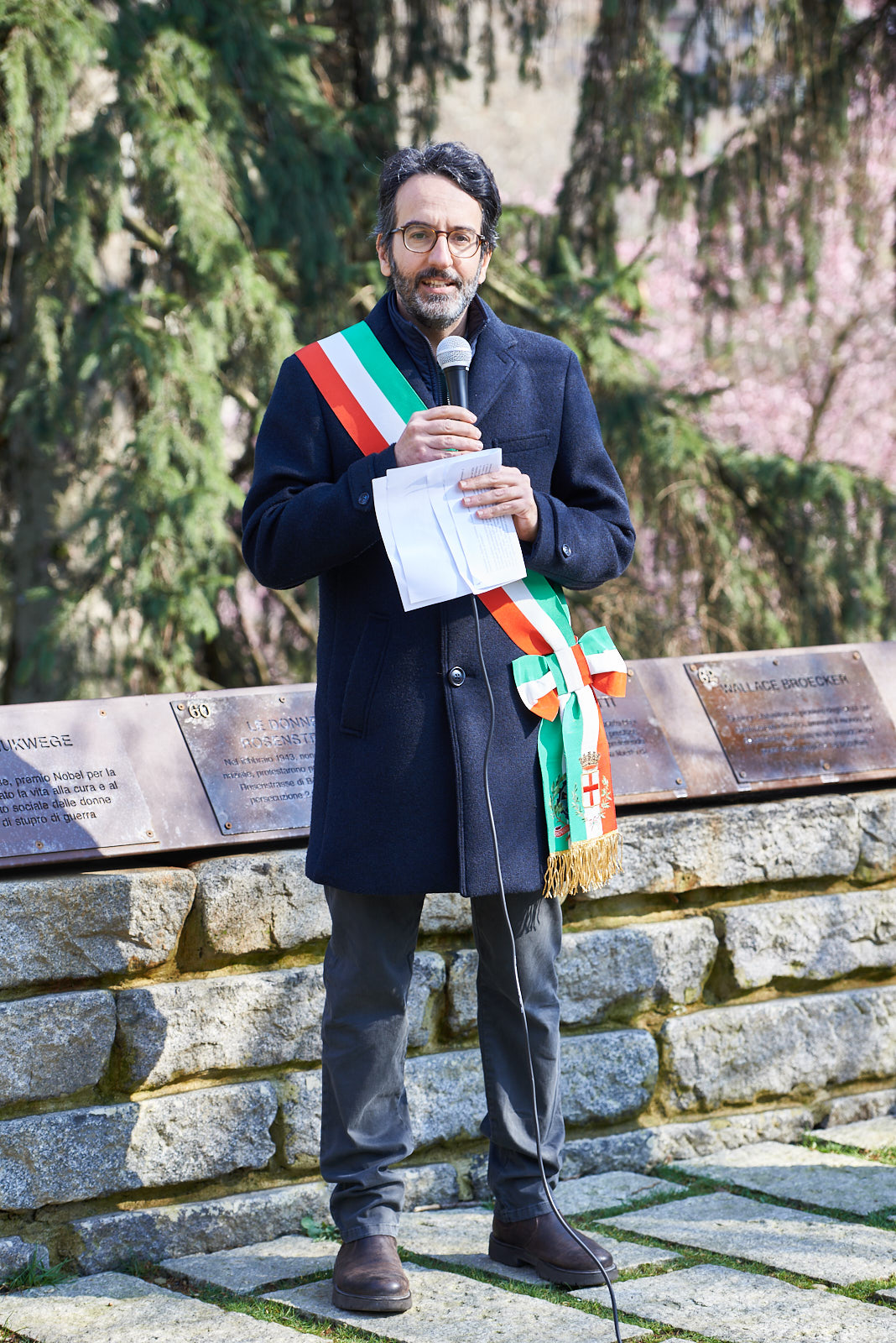 Speech by Lamberto Bertolé, president of Milan City Council