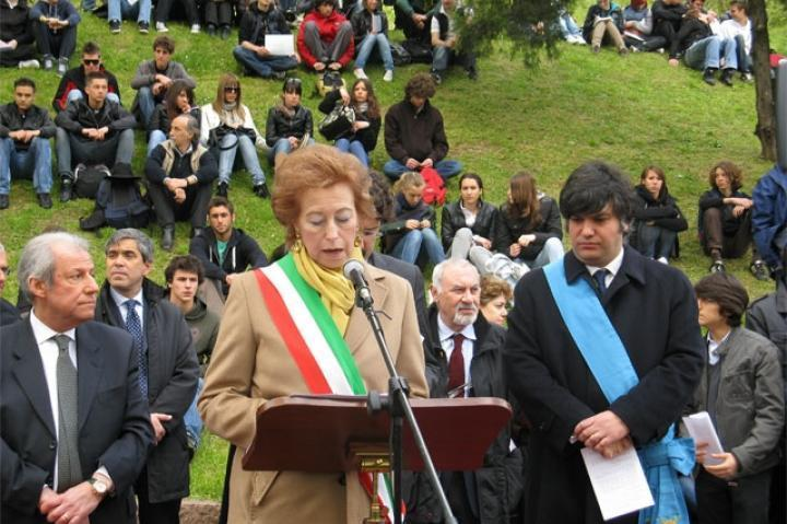The Mayor Letizia Moratti