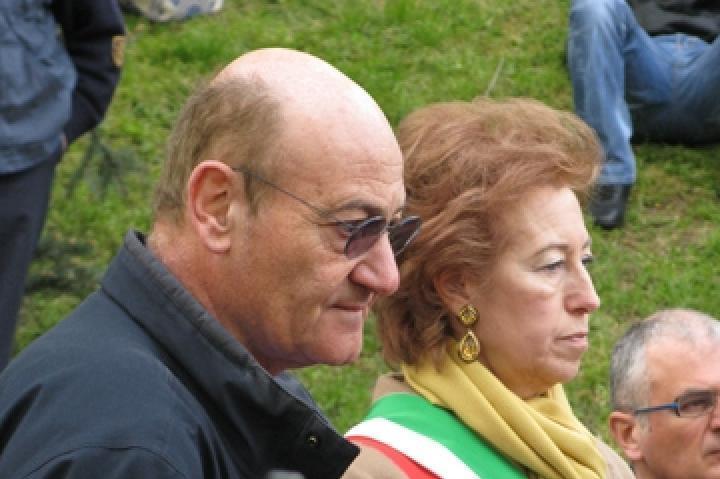 Letizia Moratti and Gabriele Nissim