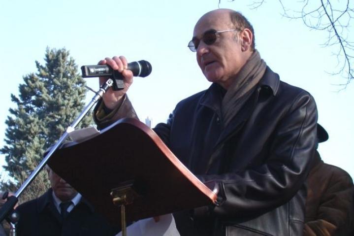 "Gariwo President Gabriele Nissim, author of the book on Moshe Bejski ""Il tribunale del Bene"""