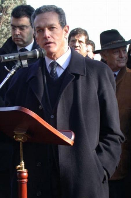 The President of the Jewish Community Roberto Jarach