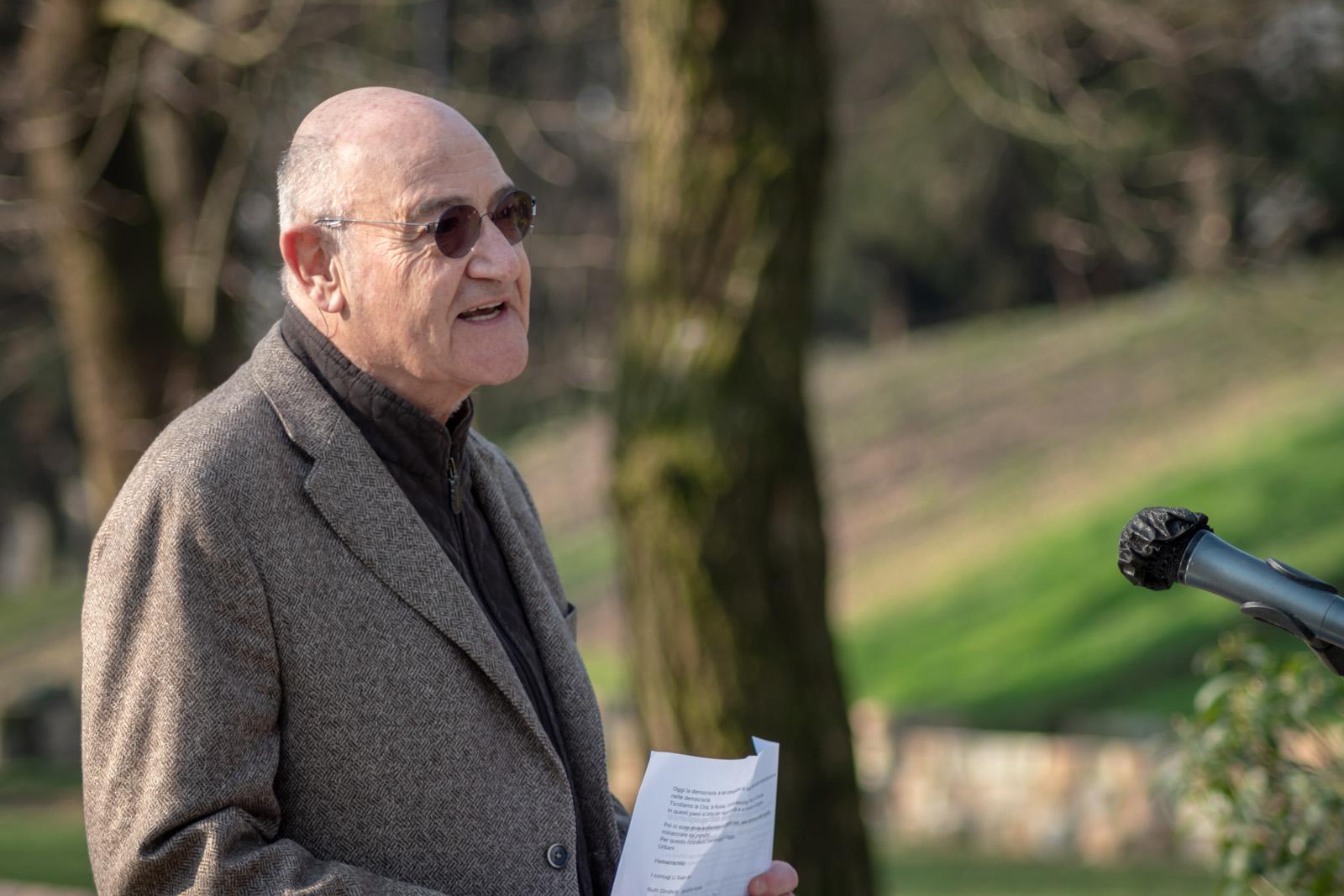 The speech of the president of Gariwo Gabriele Nissim