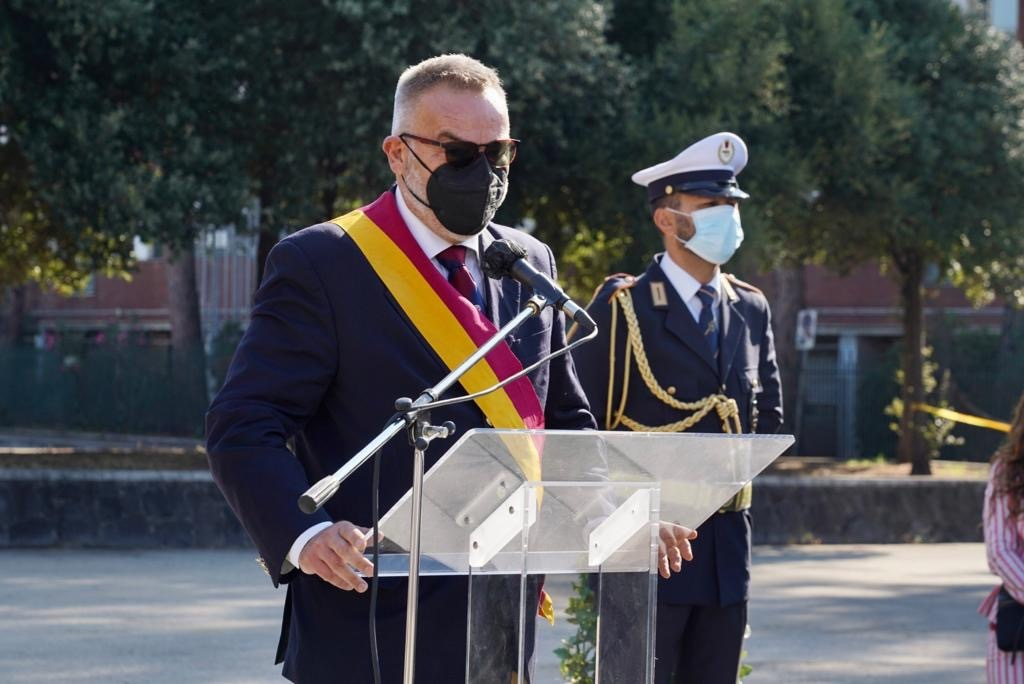 Speech by the president of the XV Municipality Stefano Simonelli