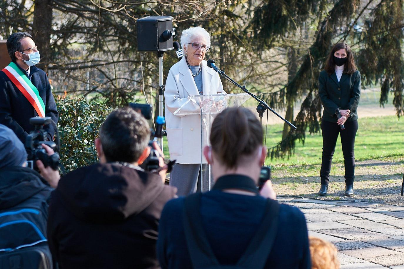 Senator Liliana Segre remembers the Righteous Susanna Aimo