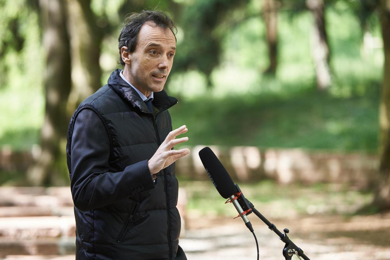 Alessandro Galimberti, President of the Ordine dei Giornalisti della Lombardia
