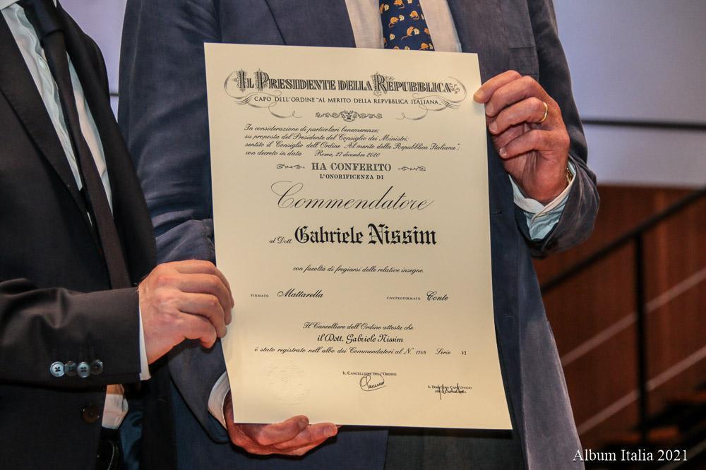The award (da albumitalia.net)
