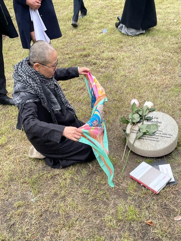 Liu Xia, Chinese human rights activist, widow of Nobel Peace Prize winner Liu Xiaobo