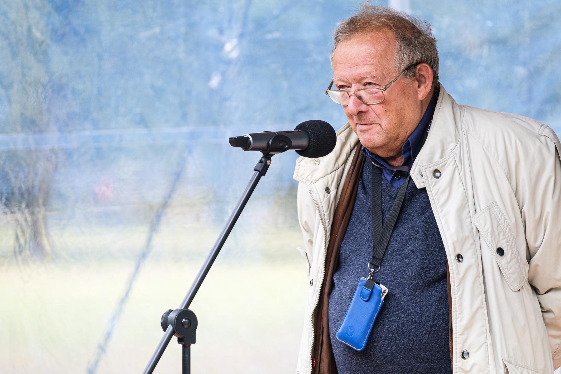 Adam Michnik, Polish essayist, publisher and politician, founder and editor of the Gazeta Wyborcza newspaper