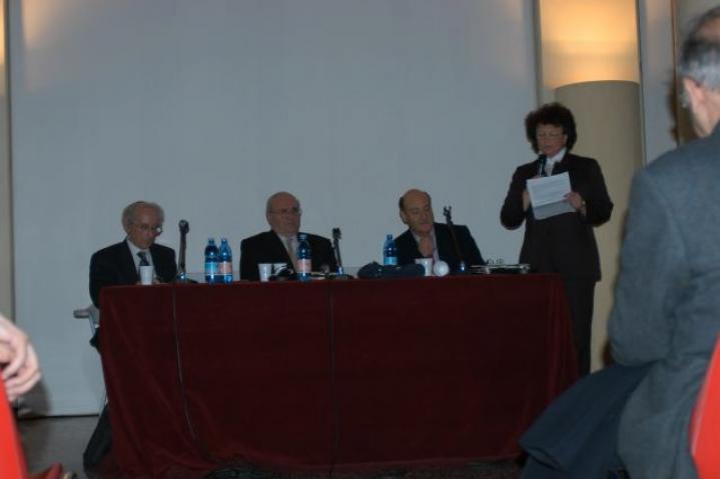 Liliana Picciotto Fargion speaking