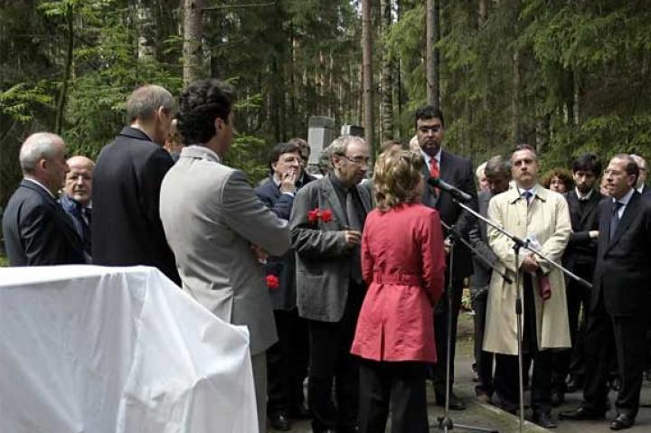 Speech by Roginskij, President of Memorial Moscow