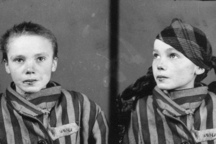 Serial number of an Auschwitz girl