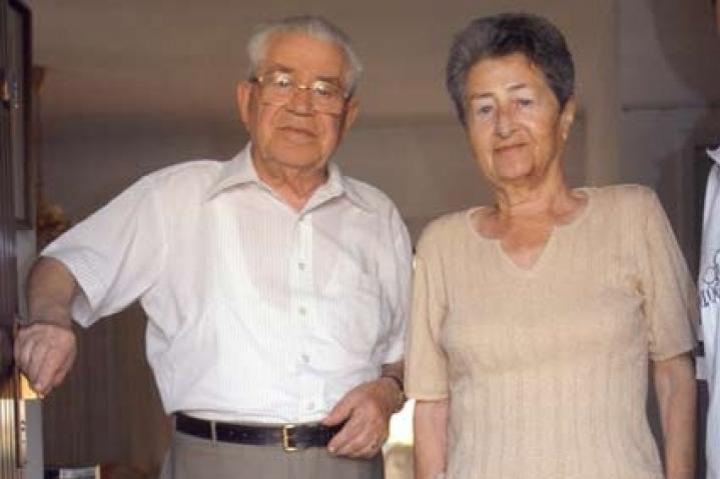 Moshe Bejski and his wife Erika