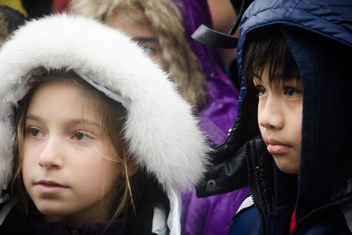 Children at European day of the Righteous