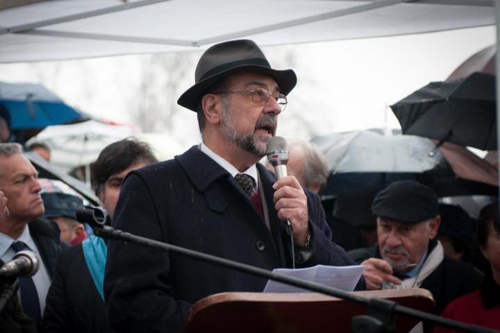 The speech by UCEI Advisor Giorgio Mortara
