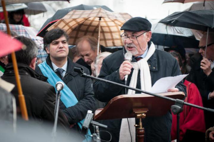The speech by Pietro Kuciukian