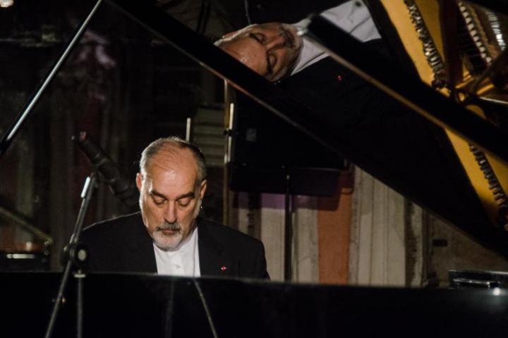 Piano virtuoso Gaetano Liguori