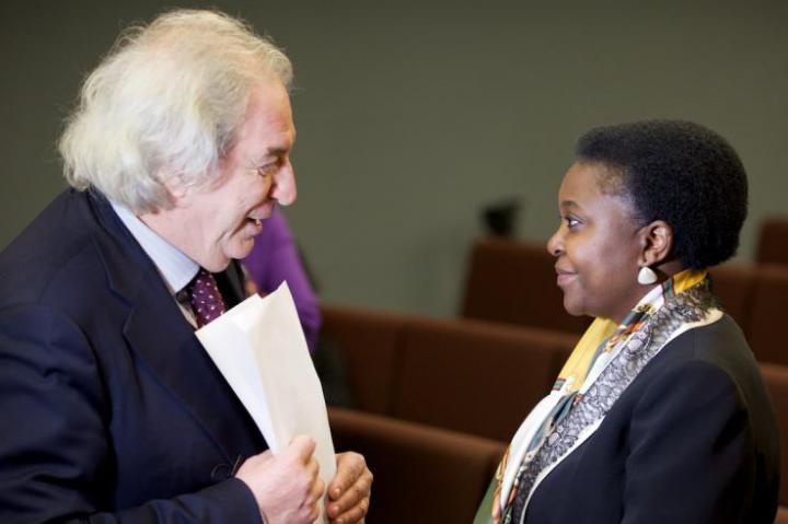 Antonio Ferrari and Minister Kyenge