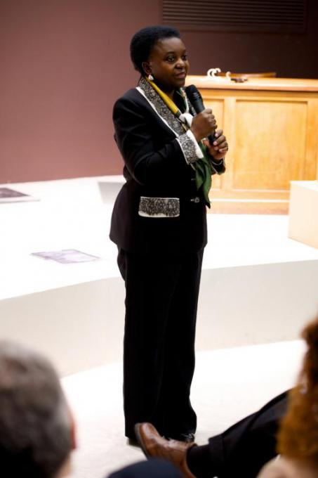 Minister of Integration Cécile Kyenge