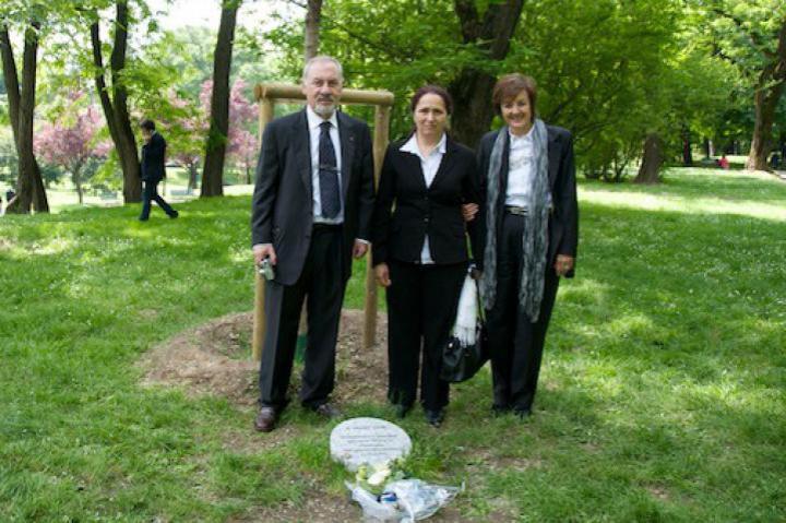 Pietro Kuciukian, Rakel Dink and Anna Maria Samuelli