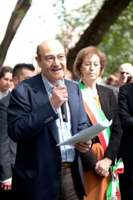 The president of the Committee of the Righteous, Gabriele Nissim