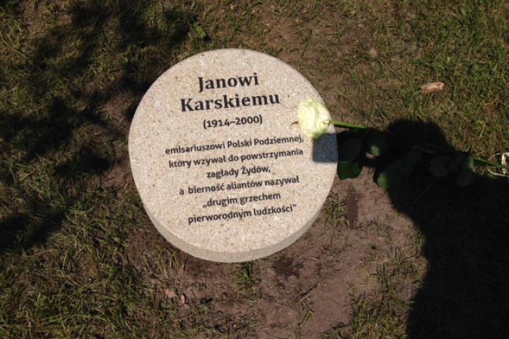 Jan Karski's cippus