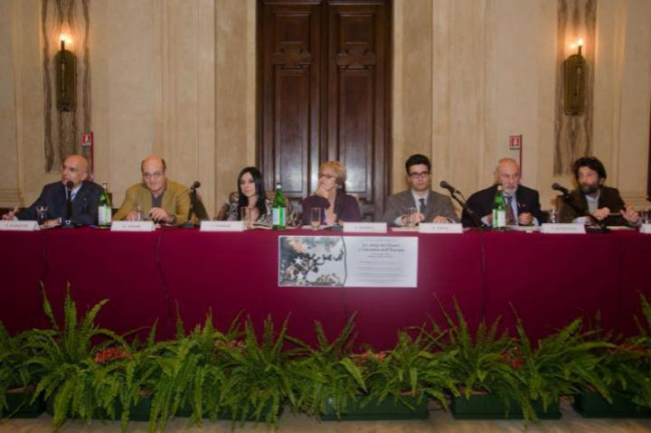 The speakers for the second day of the conference