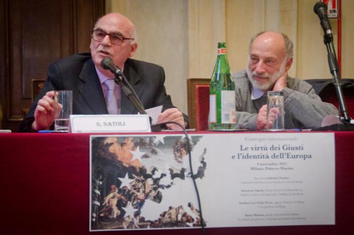 Salvatore Natoli and Stefano Levi Of the Torre