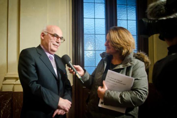 Salvatore Natoli interviewed by Tg3 Region