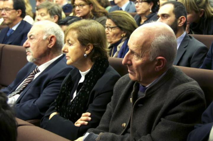 Pietro Kuciukian, Anna Maria Samuelli and Don Gino Rigoldi