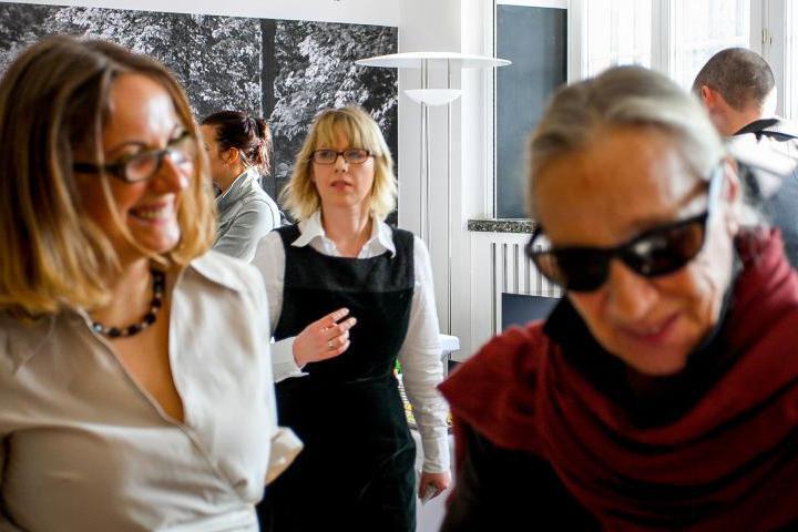 Ania Ziakowska with a guest