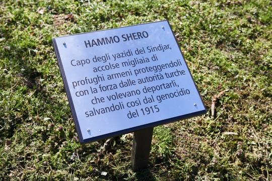 Plaque for Hammo Shero