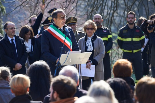 The opening speech of the Mayor Giuseppe Sala