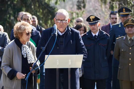 The speech of Costantino Baratta