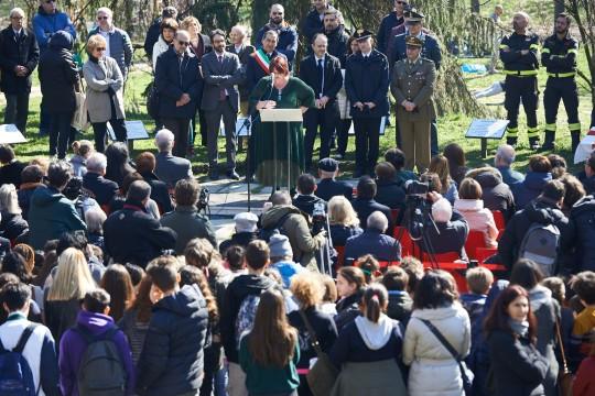 The speech of Daphne Vloumidi